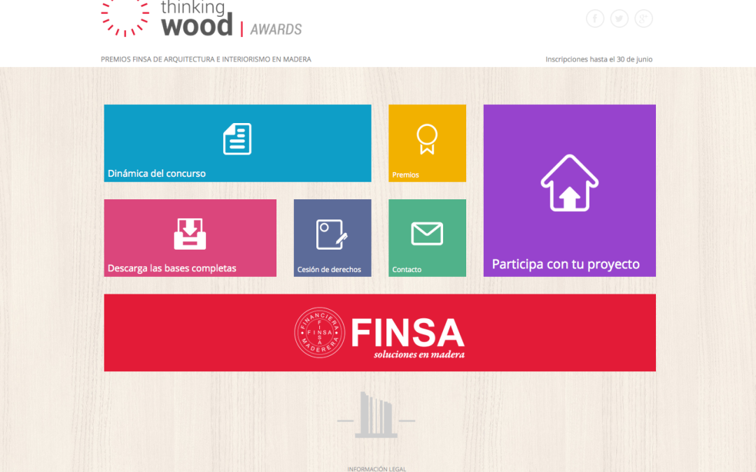 Concurso Thinkingwood de Finsa